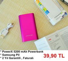 PowerX Özel Tasarım Powerbank #kampanya #indirim #powerbank