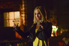 """Stefan and Elena are concerned about Caroline in The Vampire Diaries """"The Downward Spiral"""" episode! In The Vampire Diaries promotional pictures for Vampire Diaries Review, Vampire Diaries Spoilers, Vampire Diaries Seasons, Vampire Diaries Funny, Vampire Diaries The Originals, Caroline Forbes, Stefan Salvatore, Elena Gilbert, Phoebe Tonkin"""