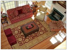Decor Your Space With #TraditionalRugs For Your Living Room