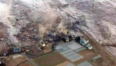 Japan Tsunami, 2011. There is nothing as devastating as a natural disaster.