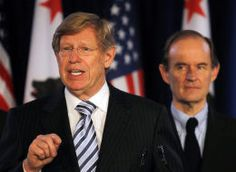Olson And Boles - These two lawyers who were Bush v. Gore lawyers, joined forces to challenge Prop 8 and won.  #Prop8nolegalstanding - these two together lifted the partisan veil, shining light on human faces.