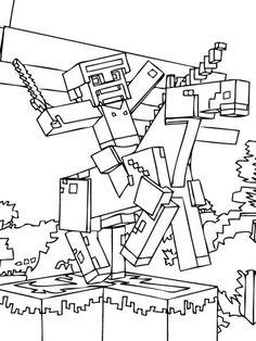 25 best ausmalbilder minecraft images
