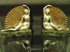 French Art Deco Bookends