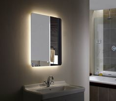 Montana II Backlit Mirror LED Bathroom Mirror