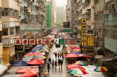 Hong Kong Street by Luke Woo Hong Kong, Travel Photography, Street, Walkway, Travel Photos