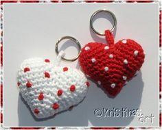 Häkelanleitungen - Häkelanleitung Amigurumi * Herz - ein Designerstück von KristinasArt bei DaWanda