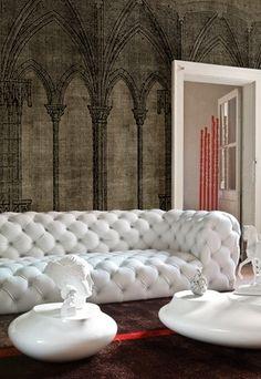 Wallpaper Flamboyant - Life12 Wall & Deco