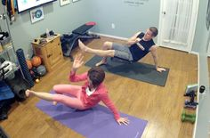 """PiYo...  """"Define: Upper Body""""...  Short but effective!  Go to www.heatherreichert.com for more info on this program."""