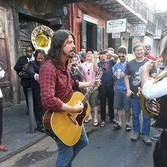 Dave Grohl in New Orleans