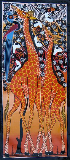 TingaTinga - Original artwork from Tanzania...click through...some great work to view