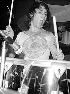 Who-drummer Keith Moon at work,on a session in the London Bumpers Club in March Jazz, John Entwistle, Keith Moon, Teenage Wasteland, Roger Daltrey, Drummer Boy, British Invasion, Music People, Drum Kits