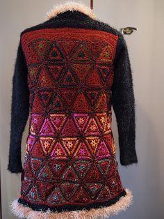 Beautiful Crochet Jacket by Renate Wright