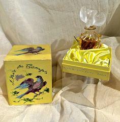 L'Air du Temps Perfume Nina Ricci in LALIQUE Single Dove Bottle Original Bouchene Art Box from France by ScarlettsFancies on Etsy