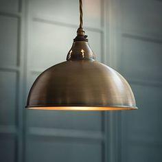 Butler Pendant Light made by Jim Lawrence Pendant Lighting, Brass Ceiling Light, Brass Lighting, Kitchen Ceiling Lights, Lighting, Brass Pendant Light, Lights, Ceiling Lights, Light Fittings