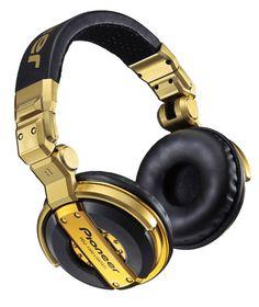 Pioneer DJ Headphones HDJ-1000 Gold Limited Edition