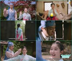 the three become friends and cha kyung told she will marry prince lee yeok -  Seven Day Queen: Episode 2 korean drama