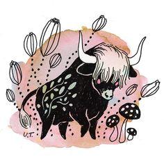 Taurus / Ulla Thynell illustration