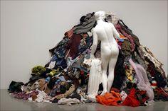 """""""La venus de los trapos"""". Michelangelo Pistoletto, una de las figuras más…"""