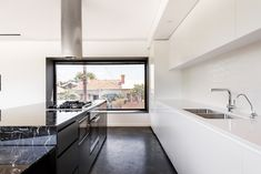 Mount Lawley House is a private residence located in Perth, Australia. The home was designed in 2014 by Robeson Architects. Mount Lawley House by Robeson Minimalist Architecture, Architecture Design, Small Space Living, Small Spaces, Perth, Layout Design, Design Ideas, Triangle House, Latest Kitchen Designs