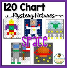 Students will love discovering the cute space themed pictures as they practice colors and place value on a 120 chart. ⭐ Two work pages are included for differentiation! An easier version has the numbers already filled in, and the harder version is blank, so the students fill in th... 120 Chart, Active Listening, Jungle Theme, Place Values, Differentiation, Astronomy, Fill, Numbers, Mystery