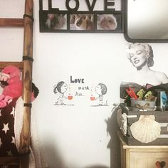 #loveisintheair #loveyourself #particular #dettails #dettailsmakethedifference #customized #mybed #bedroomdesign #mydesign #vintagestyle #pinkisthenewblack #pink #shell #marilynmonroe #photo #pic #mirror #ladder #goodmorning #flamingo #peluche #plaid #stars #starwars #newpainting #newsart #newarrivals - Architecture and Home Decor - Bedroom - Bathroom - Kitchen And Living Room Interior Design Decorating Ideas - #architecture #design #interiordesign #diy #homedesign #architect #architectural…