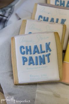 Perfectly Imperfect Book Launch Party | The $50 Home Makeover | Shaunna West | Chalk Paint® cookies