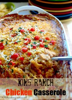 King Ranch Chicken Casserole from Texas