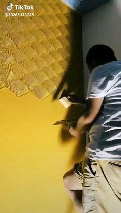 Wall Painting Decor, Diy Wall Decor, Decorative Wall Paintings, Painting Furniture, House Wall Painting, Wall Art, Diy Wand, Home Room Design, Home Interior Design
