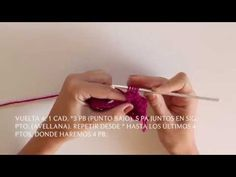 Cómo tejer un Neceser en Punto de Avellana ♥ (Bolitas) | Sweet&Knit | Bloglovin'