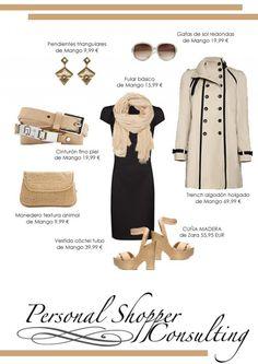 Como combinar un vestido negro para lograr diferentes looks