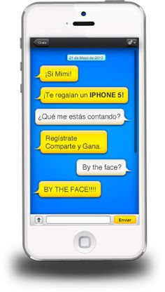 Sorteo de un iPhone 5 gratis