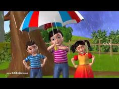 lluvia lluvia desaparece: Animación 3d rima Inglés guardería para niños canciones infantiles - YouTube