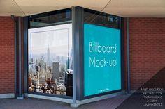 Outdoor Ad Billboard Mock-up @creativework247