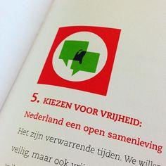 Uit het archief: GroenLinks pictogrammen #infographic #symboldesign #brandingismything #greens #politics