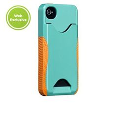 Just bought the #CaseMate Pop! ID Case for iPhone 4 / 4S in Turquoise/ Tangerine Tango from Case-Mate.com