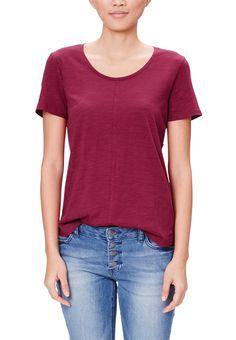 s.Oliver T-Shirt basic - summer berry für 12,99 € (01.06.16) versandkostenfrei bei Zalando bestellen.