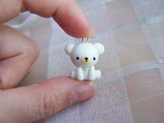 Polar Bear Charm di CuteTanpopo su Etsy