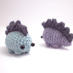 Amigurumi stegosaurus by mohu | Project | Crochet / Amigurumi | Kollabora