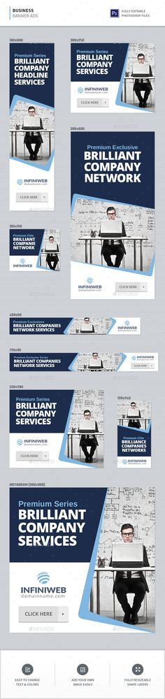 Business Banners - Banners & Ads Web Elements Download here : https://graphicriver.net/item/business-banners/20326656?s_rank=146&ref=Al-fatih #animated banner #banner pack #banner set #business #flat design #gif banner  #adwords #marketing #multi purpose #promotions #sales #template #web banner #ads #banner template  #ads template #premium design