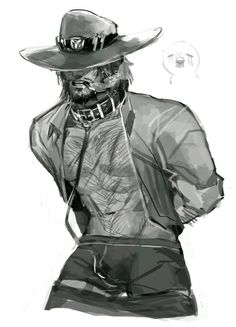 Save a horse 'n ride a cowboy Overwatch Hanzo, Overwatch Comic, Overwatch Fan Art, Character Inspiration, Character Art, Character Design, Overwatch Wallpapers, Guy Drawing, Gay Art