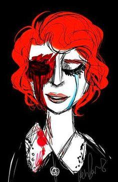AHS Murder House - Moira fan art