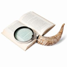 Set of 2 Horn Magnifying Glasses design by Barbara Cosgrove