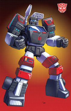 Trailblazer; Here's another G-1 fav. Thanks again to Evan Guantt for the color magic! transformers©hasbro,inc.