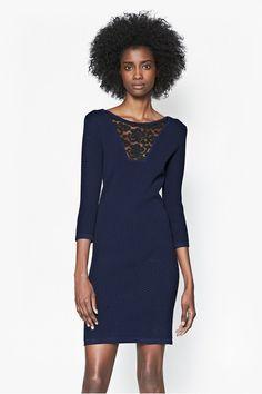 Danni Ludo Lace Detail Dress