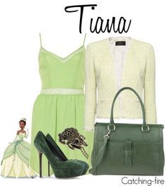 """Tiana"" by catching-fire ❤ liked on Polyvore"
