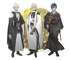 Hot Anime Boy, Anime Guys, Samurai, Prop Design, Manga Boy, Male Figure, Manga Comics, Manga Drawing, Anime Outfits