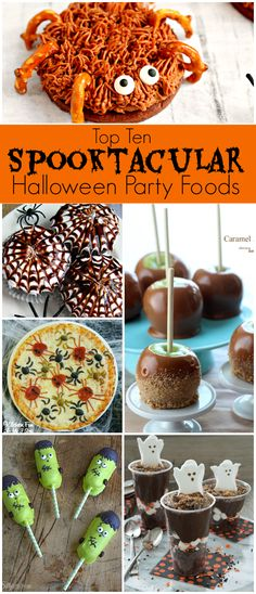These Ten Spooktacular Halloween Party foods will be the perfect treat for your Halloween Party!
