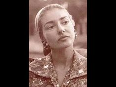 ▶ Maria Callas, Caro nome - Rigoletto - G.Verdi - 1955 - YouTube