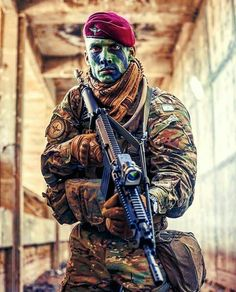 Image may contain: 1 person Military Camouflage, Military Love, Military Weapons, Military Art, Indian Army Special Forces, Special Forces Gear, Indian Army Wallpapers, Military Pictures, Armed Forces