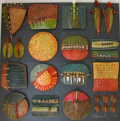 http://www.claytreefinearts.com/Claytree/Wall_Sculptures.html#grid